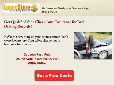 affordable car insurance  bad driving record
