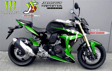 Stiker Jupiter Z 2005 Merah Hitam design cat motor modifikasi autos post