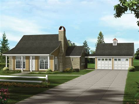 cute bungalow with detached garage 16855wg 18 best detached garage images on pinterest detached