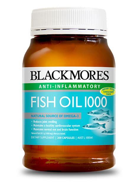 Vitamin Blackmores Malaysia fish 1000 blackmores