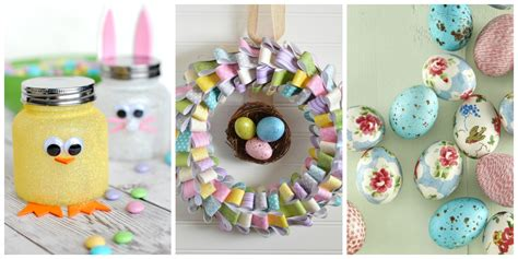 how to make easter decorations for the home 60 easy easter crafts ideas for easter diy decorations