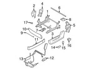 2006 Nissan Murano Parts Seat Adjuster For 2006 Nissan Murano 87450 Ca78a
