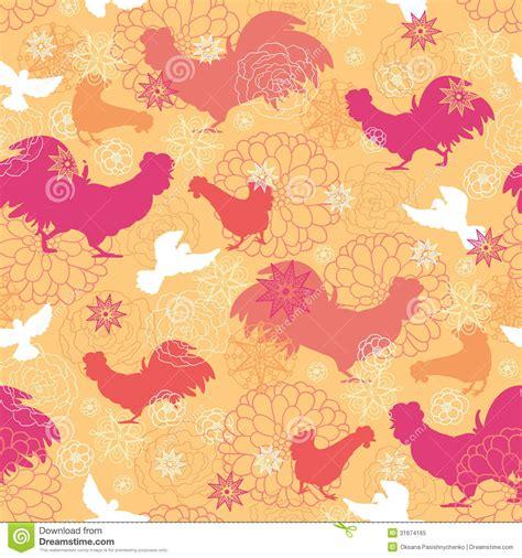 background pattern names farm birds seamless pattern background royalty free stock