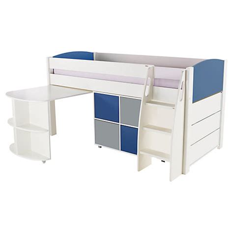 Pull Out Desk Drawer by Buy Stompa Uno S Plus Mid Sleeper With Pull Out Desk 3
