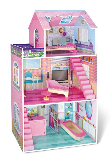 kmart doll houses just kidz traditional wooden dollhouse