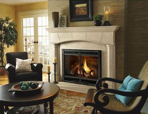 Heat N Glo Fireplace Accessories by Heat Glo 8000 Series Gas Fireplace Traditional