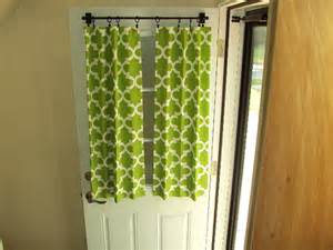 Curtain Front Door Front Door Back Door Window Curtain By Countrycustoms On Etsy
