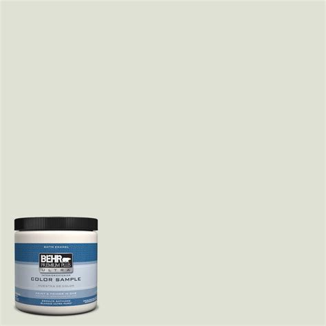 Behr Interior Satin Enamel by Behr Premium Plus Ultra 8 Oz Ppu10 12 Whitened