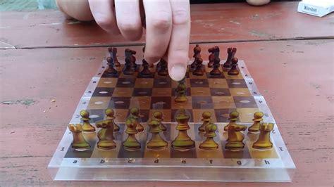 diy chess board 6 diy pocket chess board design v2 youtube