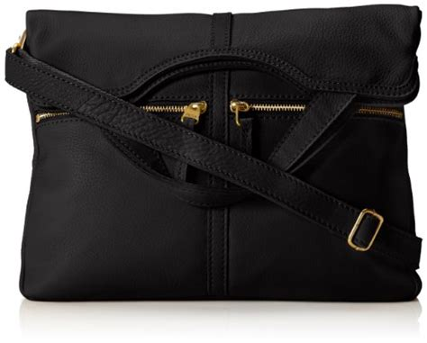 erin series fossil sling bag usa fossil erin foldover tote black one size 11street my
