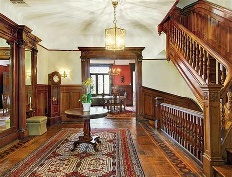 edwardian homes interior west 142nd street new york hamilton heights brownstone