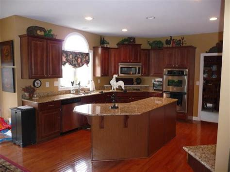 popular kitchen paint colors with cherry cabinets ideas the clayton design