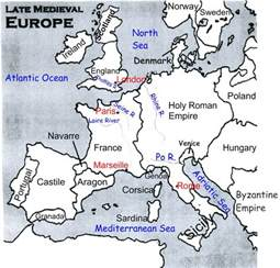 Outline Map Of Europe In Middle Ages by Blank Map Of Europe In The Middle Ages