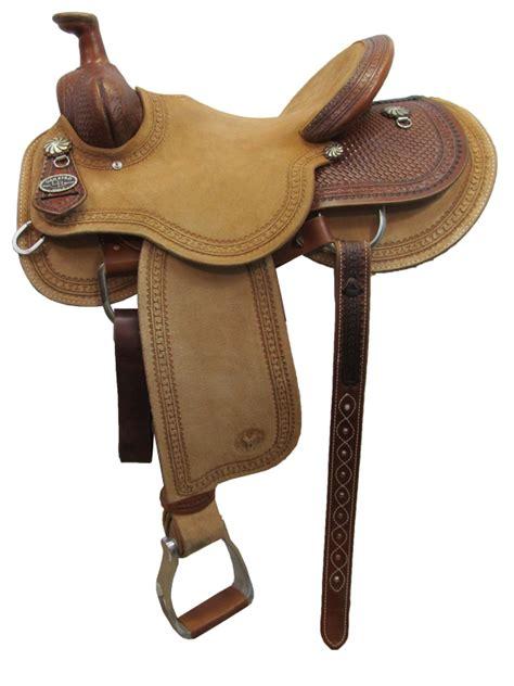 14 5inch circle y dan byrd 2721 mounted shooting saddle