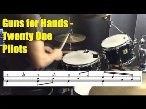 tutorial not drum guns for hands drum tutorial twenty one pilots youtube