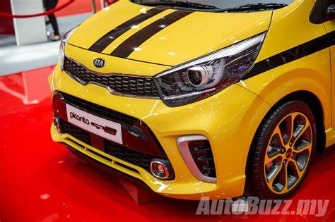 Kia Picanto Malaysia Kia Picanto Gt Line Previewed In Malaysia Launching Soon