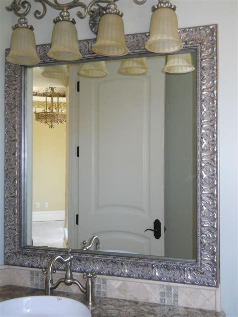 bathroom ni brushed nickel bathroom mirror brushed nickel bathroom