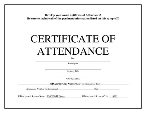 certificate templates uk free attendance certificate templates uk choice image