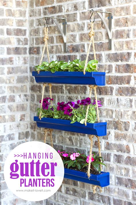 Gutter Planter Box by Diy Window Flower Boxes Make It And It