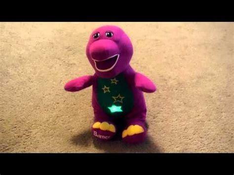 barney light up tummy sings twinkle twinkle