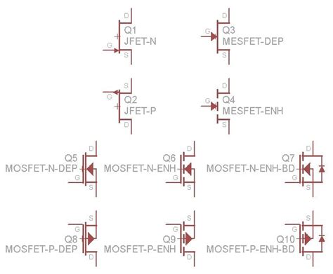 orcad diode symbol mosfet symbol what is the correct symbol electrical engineering stack exchange