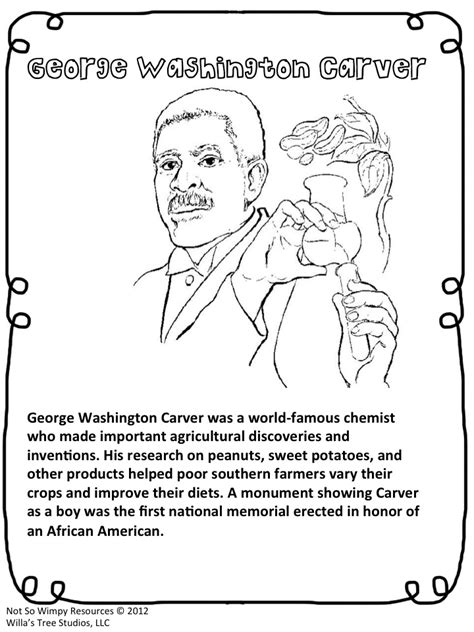 coloring pages booker t washington the diary of a not so wimpy teacher george washington