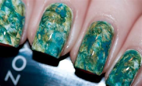nail change color in water best 25 water color nails ideas on colorful