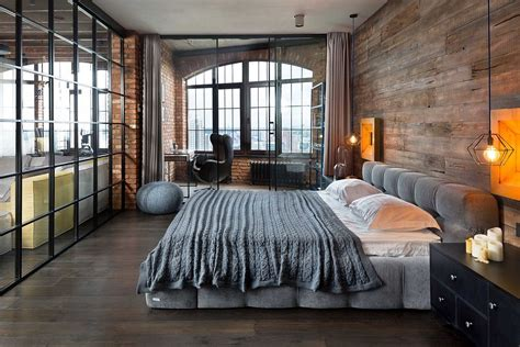 bedroom lofts high end bachelor pad design stunning loft in kiev by