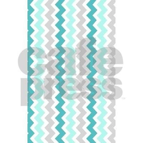 Teal Chevron Area Rug Teal Grey White Chevron 3 X5 Area Rug By Dreamingmindcards