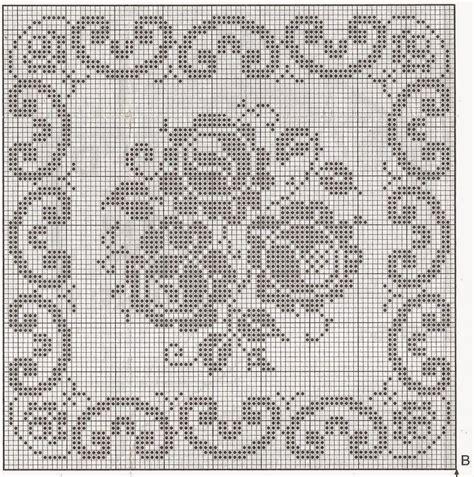 schemi cuscini uncinetto schemi cuscini a filet hobby lavori femminili ricamo