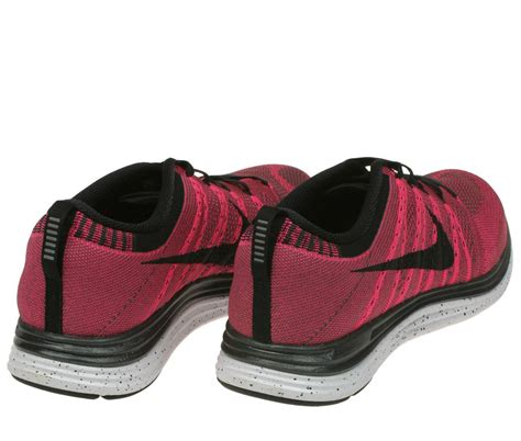 Nike Sneaker A23 mens nike flyknit one pink lightweight running trainers