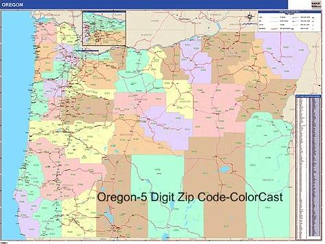 map of eugene oregon zip codes oregon zip code map my