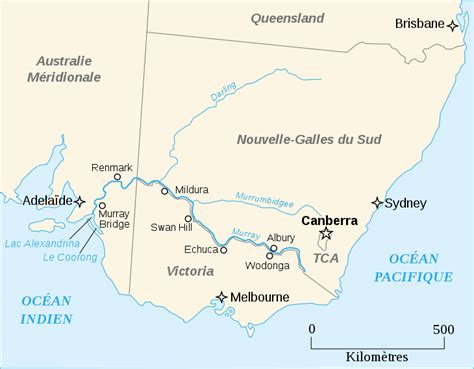 australia river map map of river australia