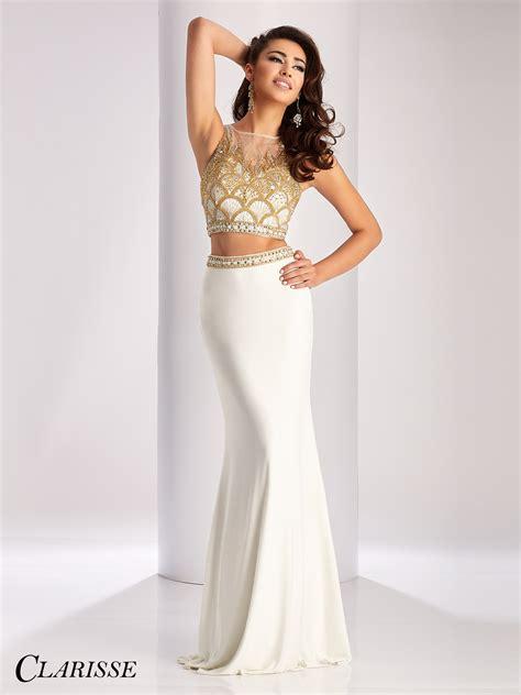 clarisse  piece prom dress  promgirlnet