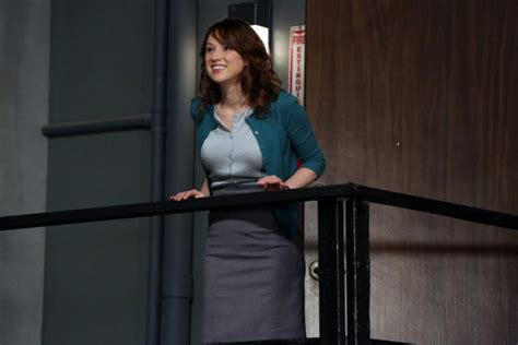 Ellie Kemper Office angela kinsey and ellie kemper on saying goodbye to the office ign page 2