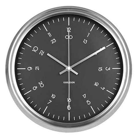 Uhr Karlsson by Karlsson Wanduhr Ka5597bk Bei Uhren4you De