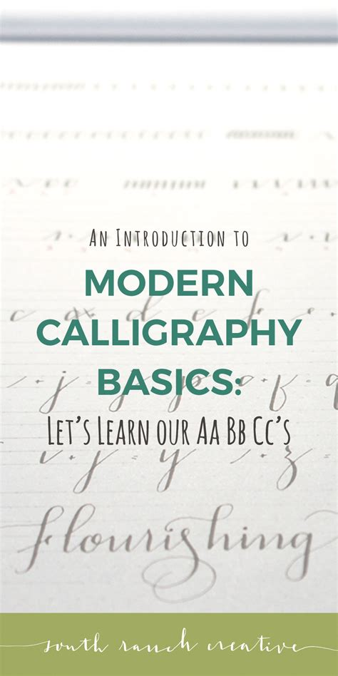 learn to create modern calligraphy lettering books modern calligraphy basics let s learn our aabbcc s