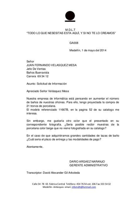 carta 8 solicitud de informacion comercio