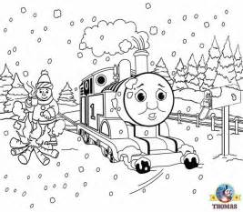 tank engine winter coloring free coloring pages for printable