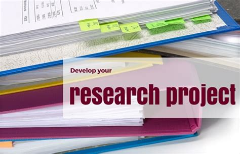 Project Research by Developing Your Research Project Mooc Review