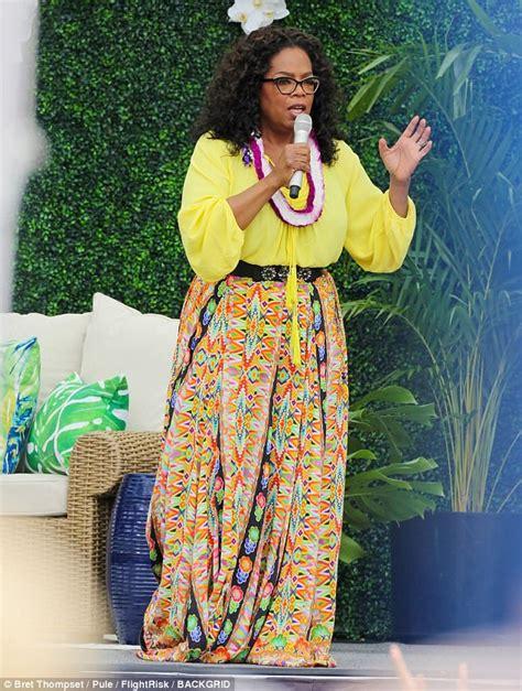 oprah winfrey famous speech oprah winfrey inspires hawaii to live your best life