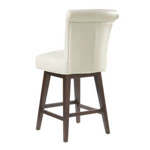 hamlet swivel barstool ivory buy faux leather bar stools