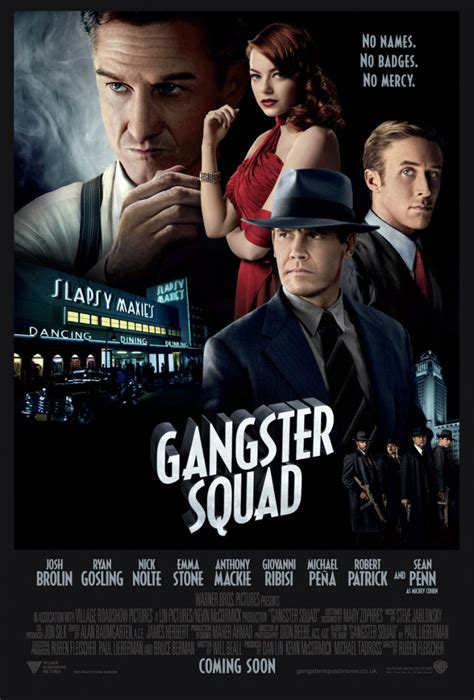 gangster film review big shots and little else gangster squad film review