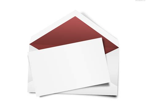 Blank Greeting Card Template Psd by Envelope With Blank Note Psd