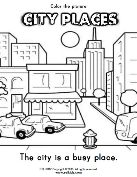 city places activities games and worksheets for kids