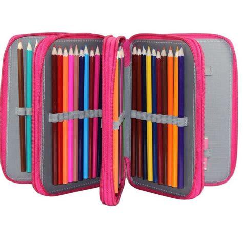 Pencil Pouch pencil 72 pencil holder pink pencil storage