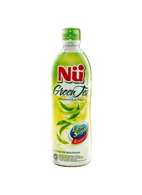 Ichi Ocha Minuman Teh Hijau 500ml nu minuman green tea less sugar btl 450ml klikindomaret