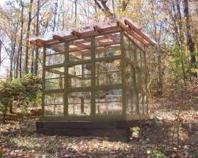 Greenhouse From Salvaged Windows Decor Relaxshacks Salvaged Window Greenhouses Cabins N