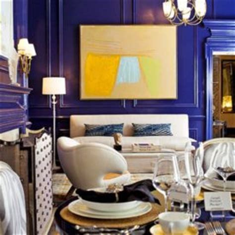 sideboard cobalt blue design home decorating trends