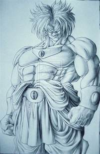 broly by ticodrawing on deviantart